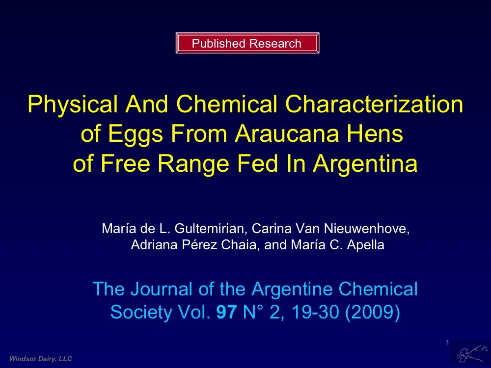 Many of you have reported that Aracauna Eggs are Better - Here's Proof !
