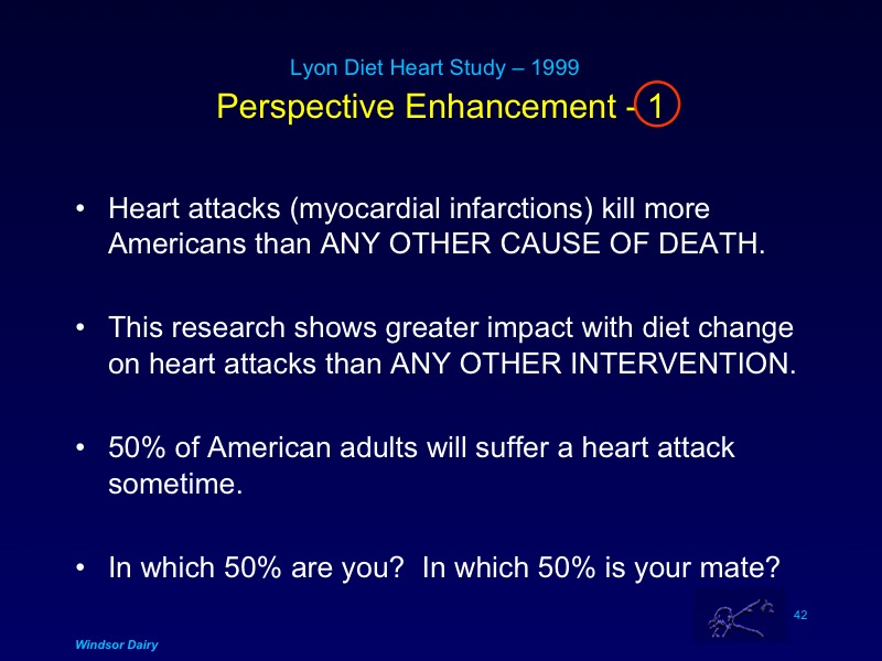 The Monumental Heart Health Intervention Study that changed almost everything we thought we knew about heart attacks and diet.