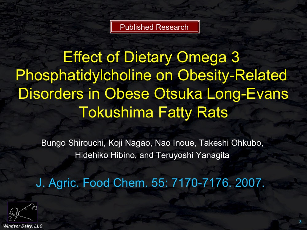 Diets higher in Omega-3 decrease liver and blood fats in fat prone rats.